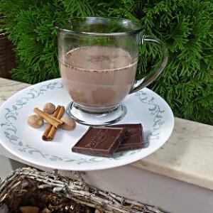 Csokoládés tea