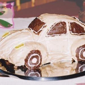 Volkswagen Bogár puncstorta