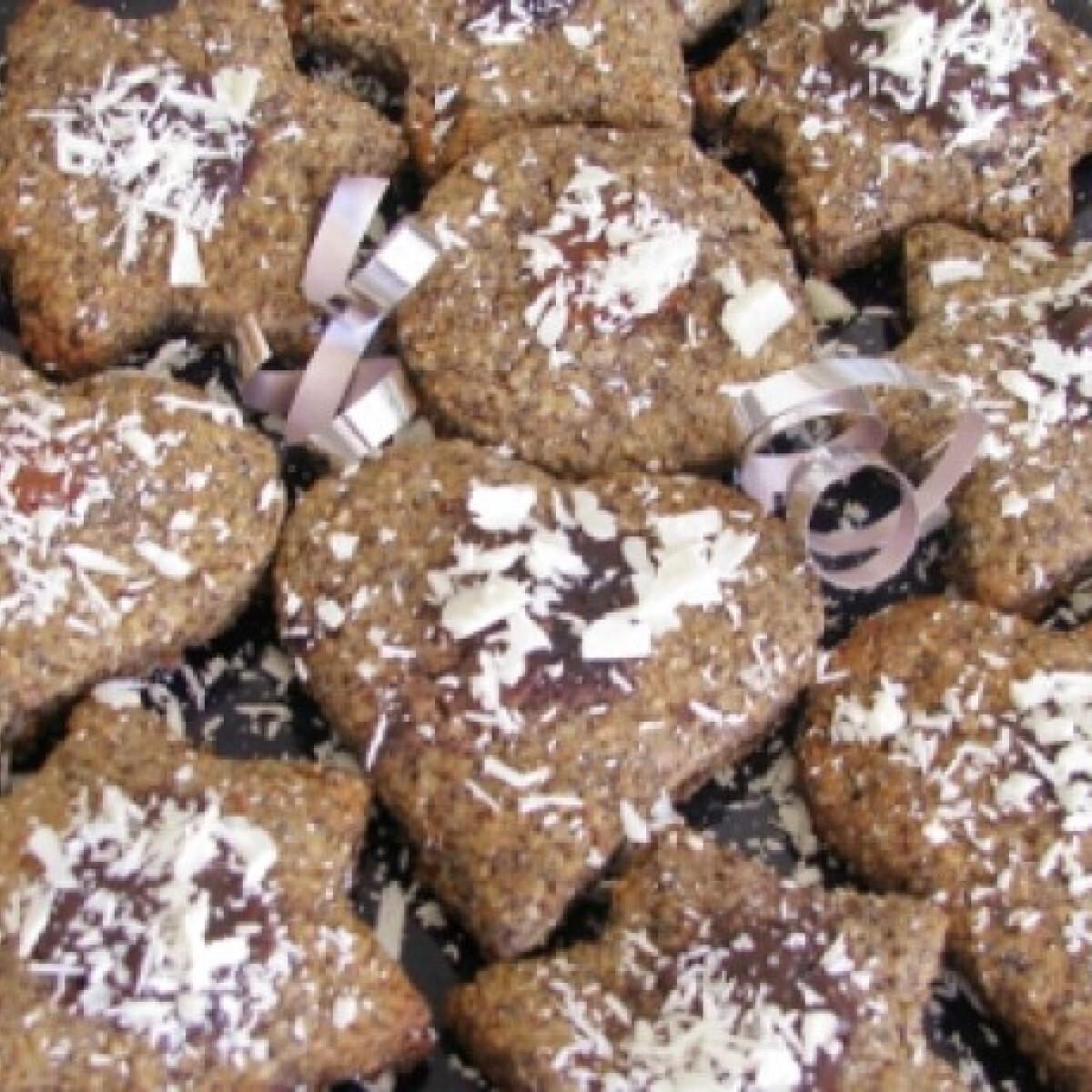 Meggyes-mákos keksz