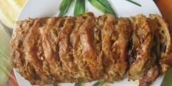 Egyben sült karaj 2. - mustáros