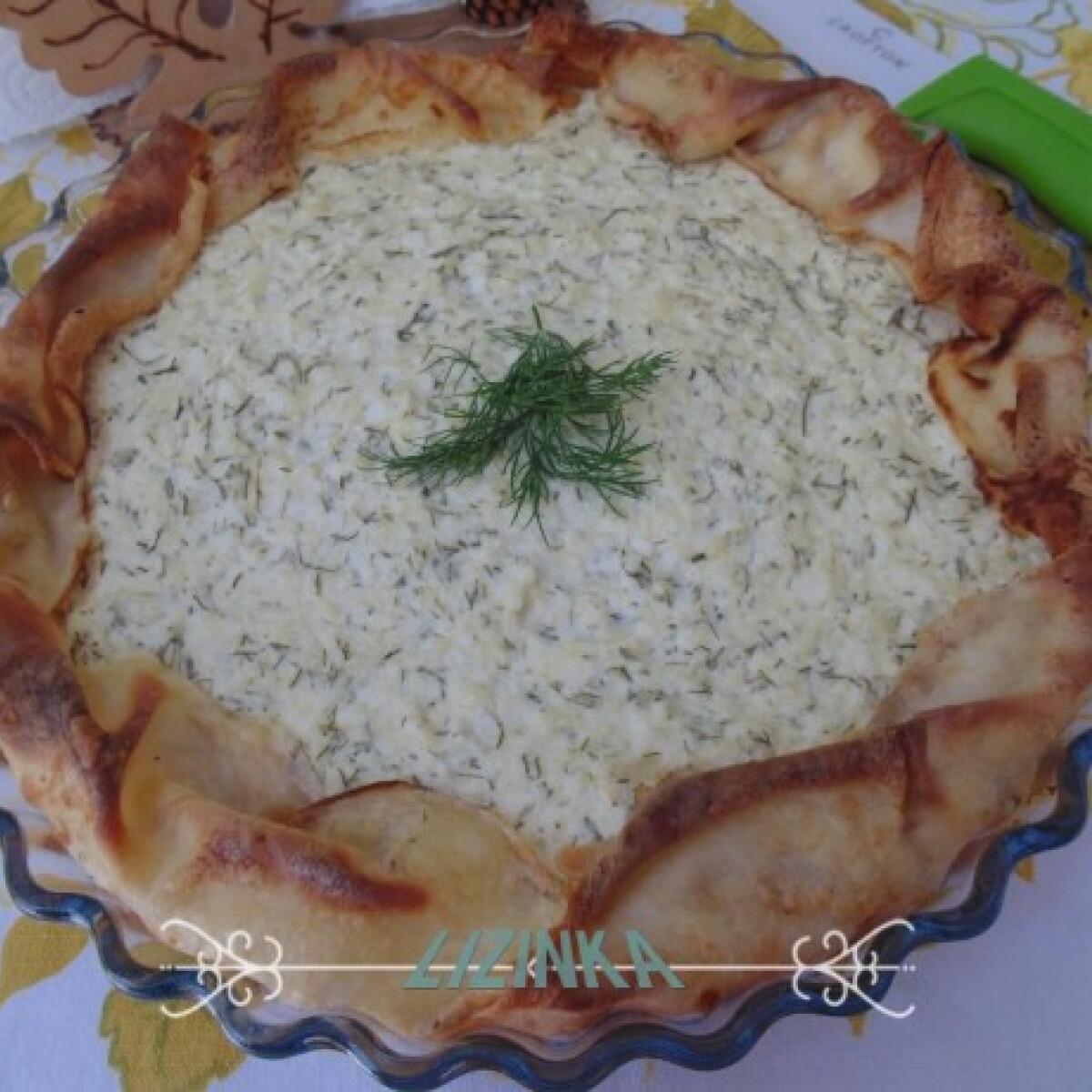 Kapros-túrós palacsinta-pite