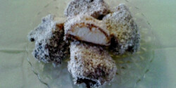 Kókuszos-csokikrémes habgaluska