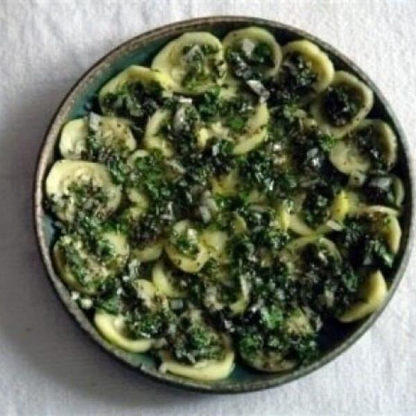 Olasz cukkinisaláta