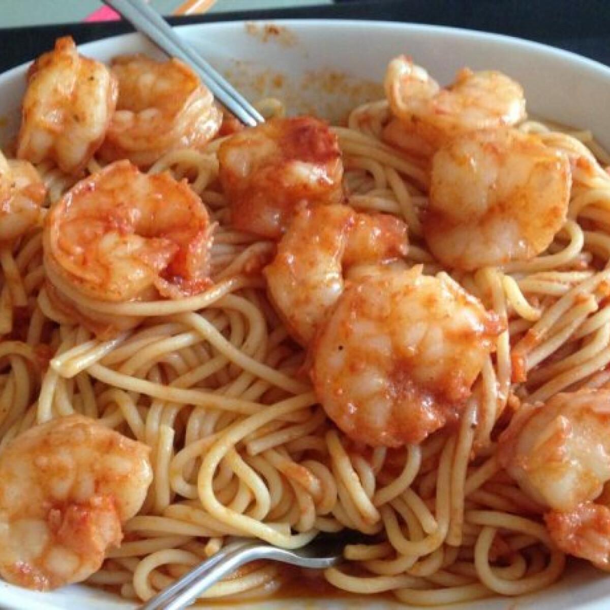 Ezen a képen: Spaghetti gamberoni