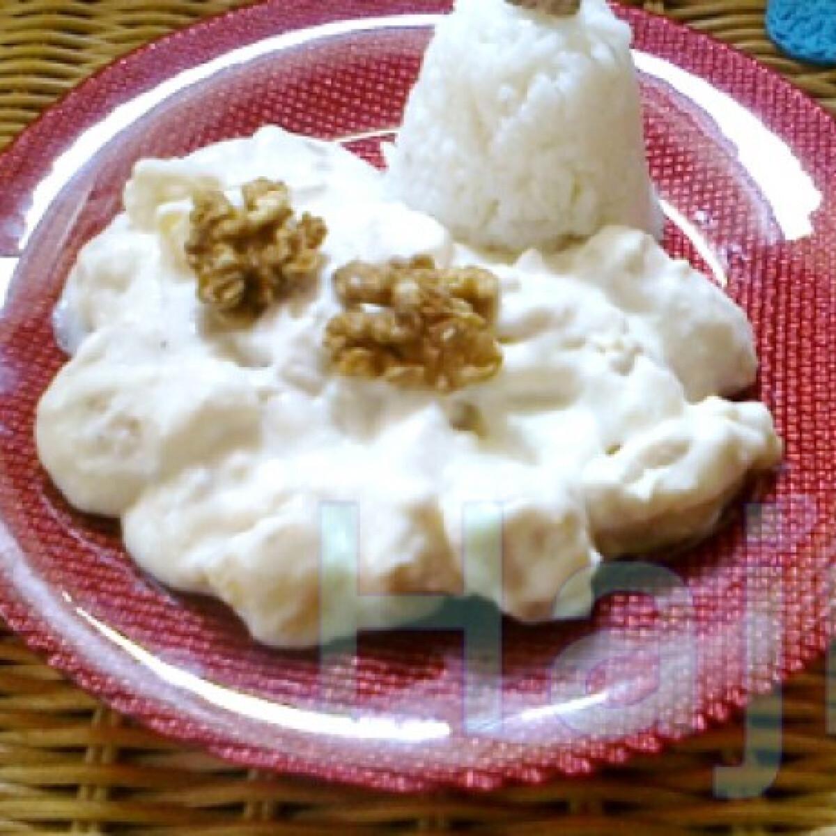 Ezen a képen: Ananászos-tejszínes csirke Jahintól