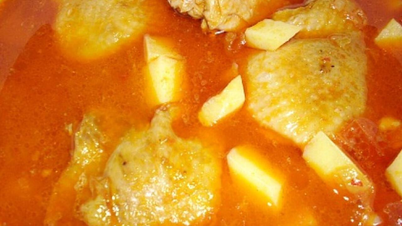 Csirkegulyás Glaser konyhájából