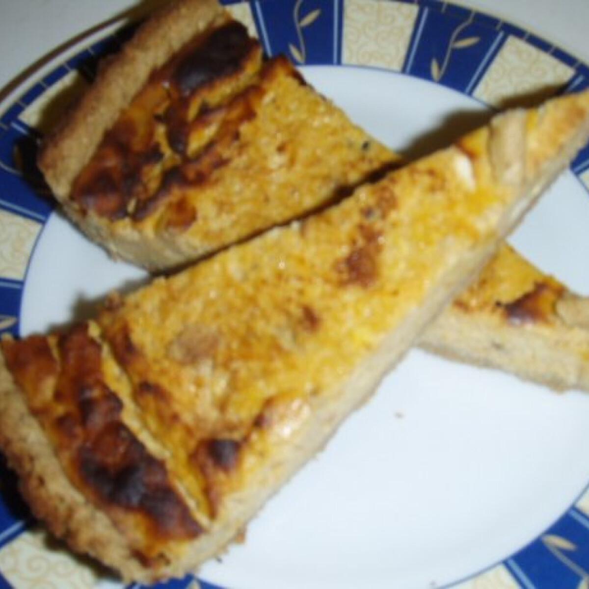 Ezen a képen: Fűszeres sütőtökpite zabliszttel