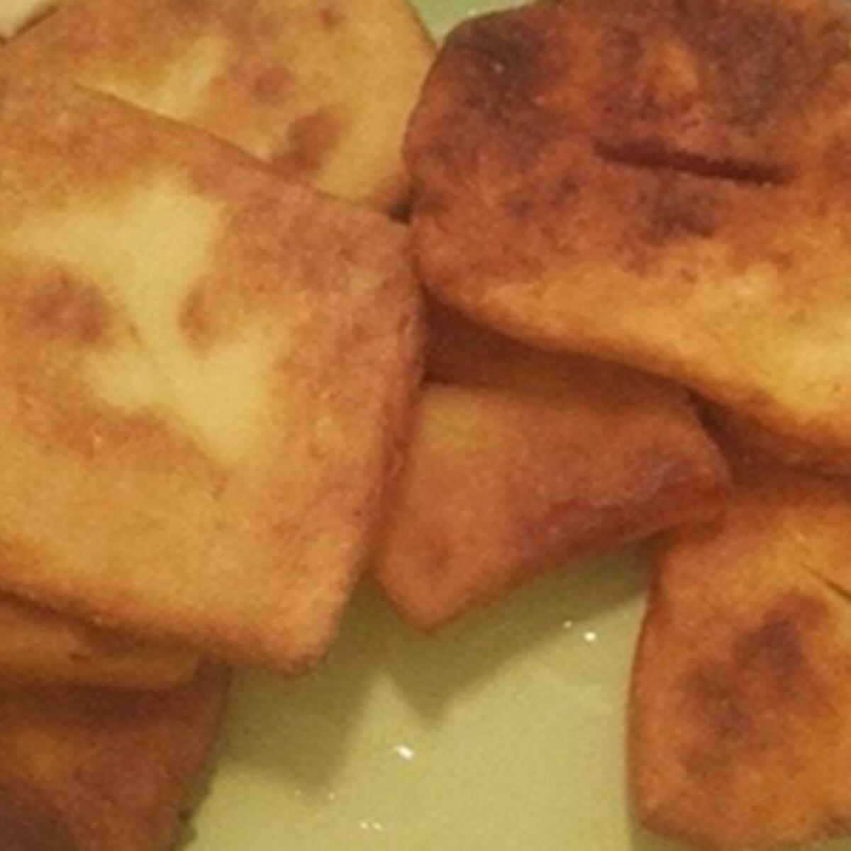 Egyszerű krumplis lángos