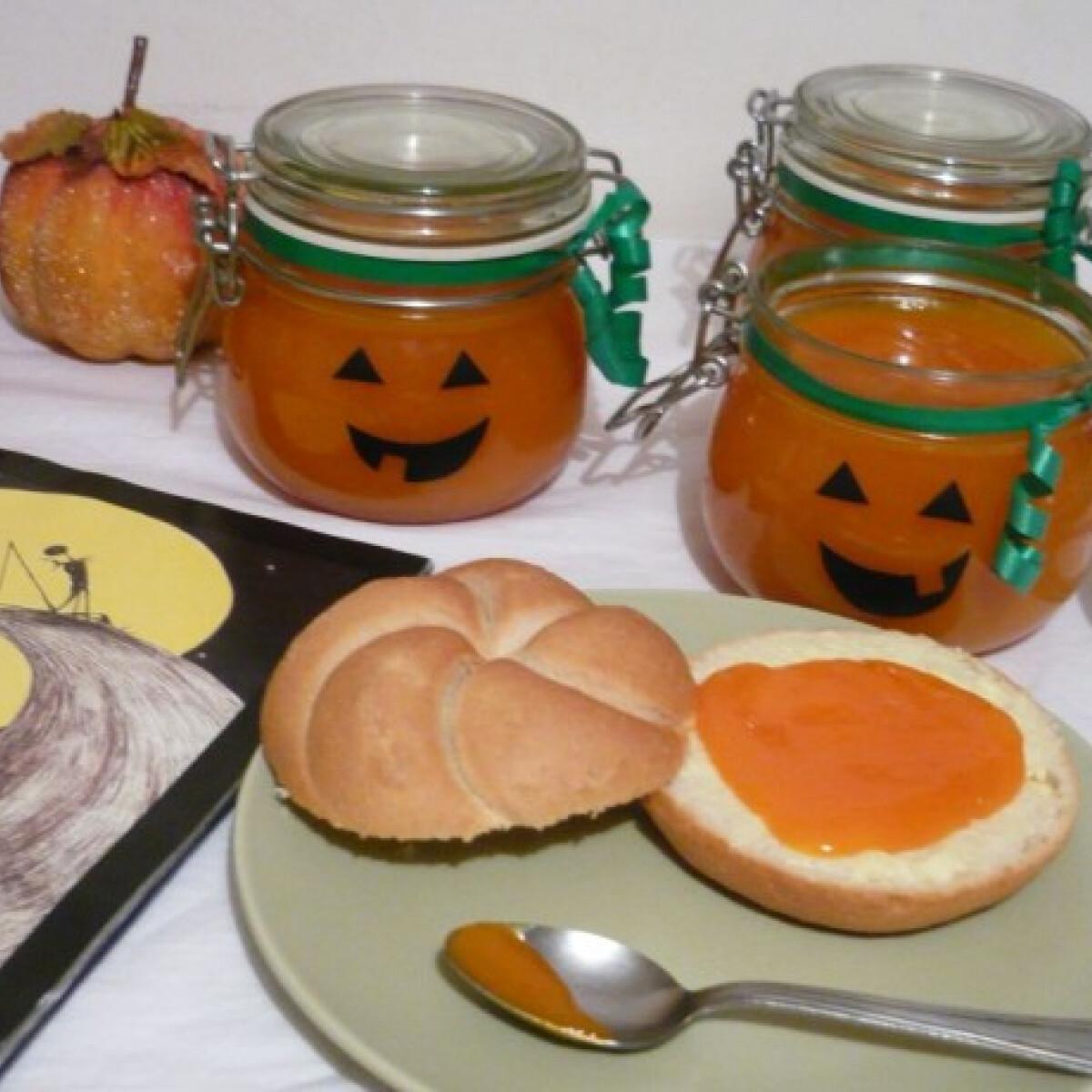 Ezen a képen: Narancsos sütőtöklekvár KönyvParfétól