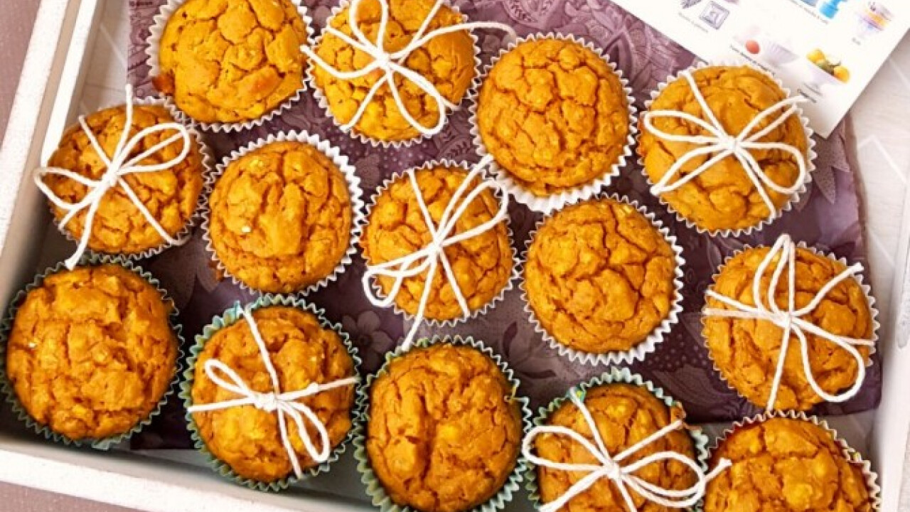Sós, édesburgonyás muffin