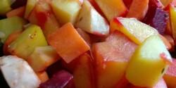 Sütőben sült tepsis zöldségek