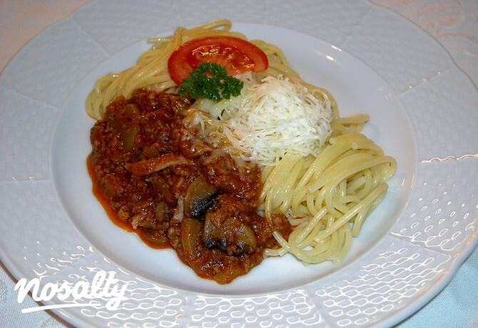 Bolognai spagetti vicsys konyhájából - Nosalty