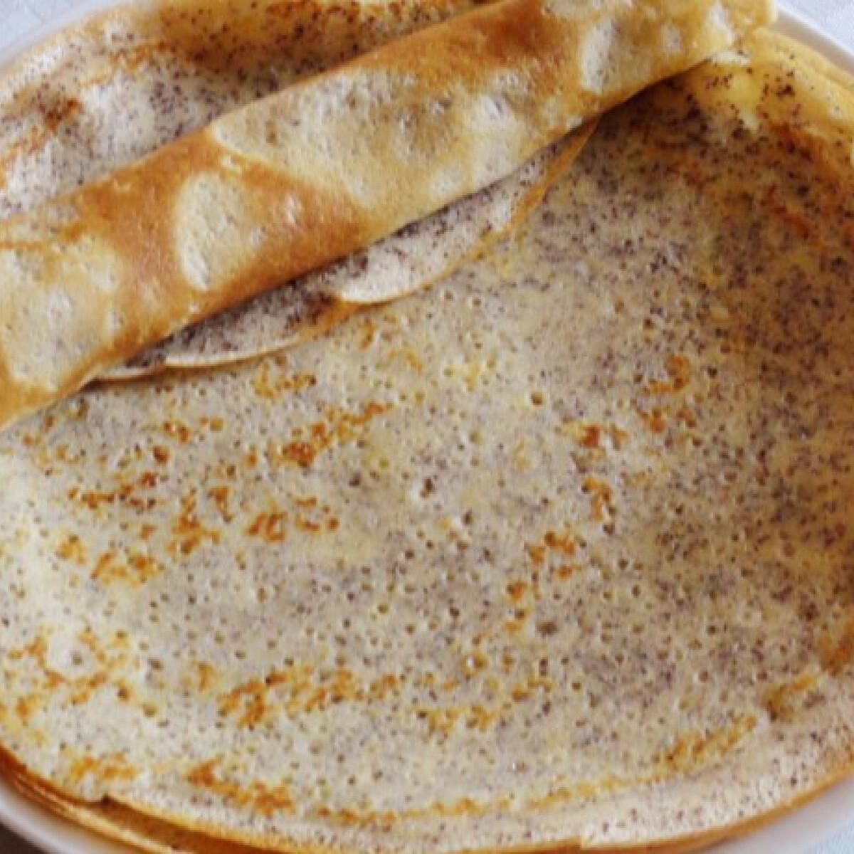 Mákos palacsinta Glaser konyhájából