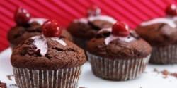 Meggyes-csokis muffin 2.