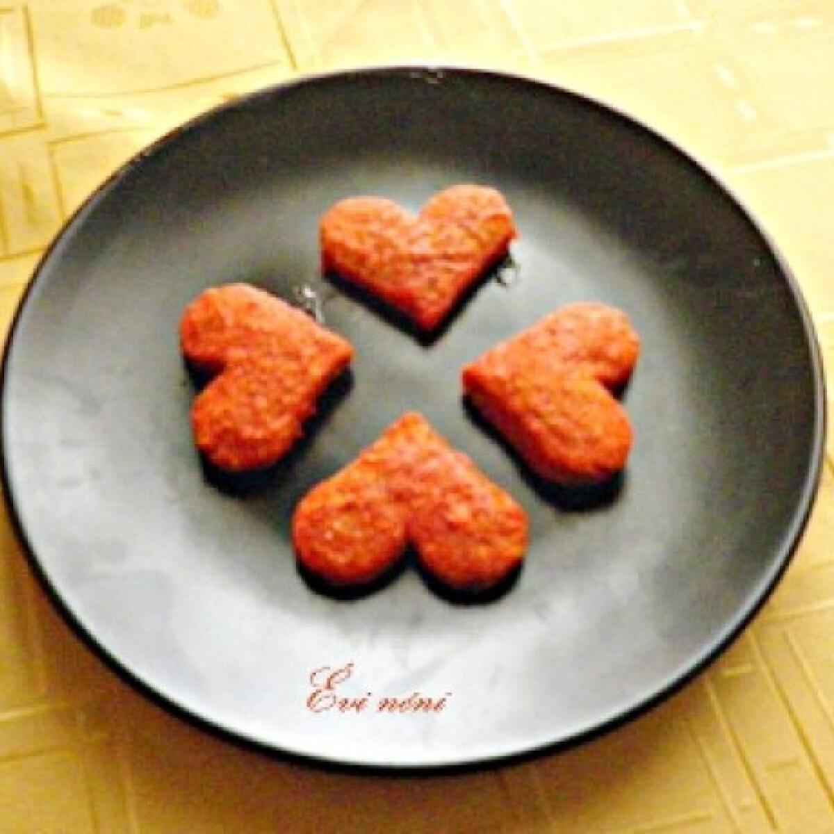 Ezen a képen: Gyömbéres szívecskék