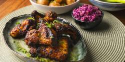 Fűszeres csirkeszárnyak Philips Airfryerben készítve