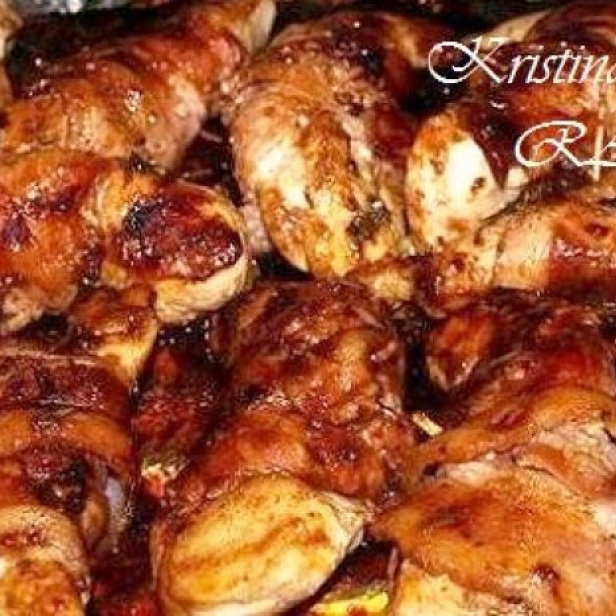 Ezen a képen: Egyszerű barbecue-s csirkemell