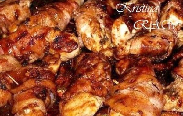 Egyszerű barbecue-s csirkemell