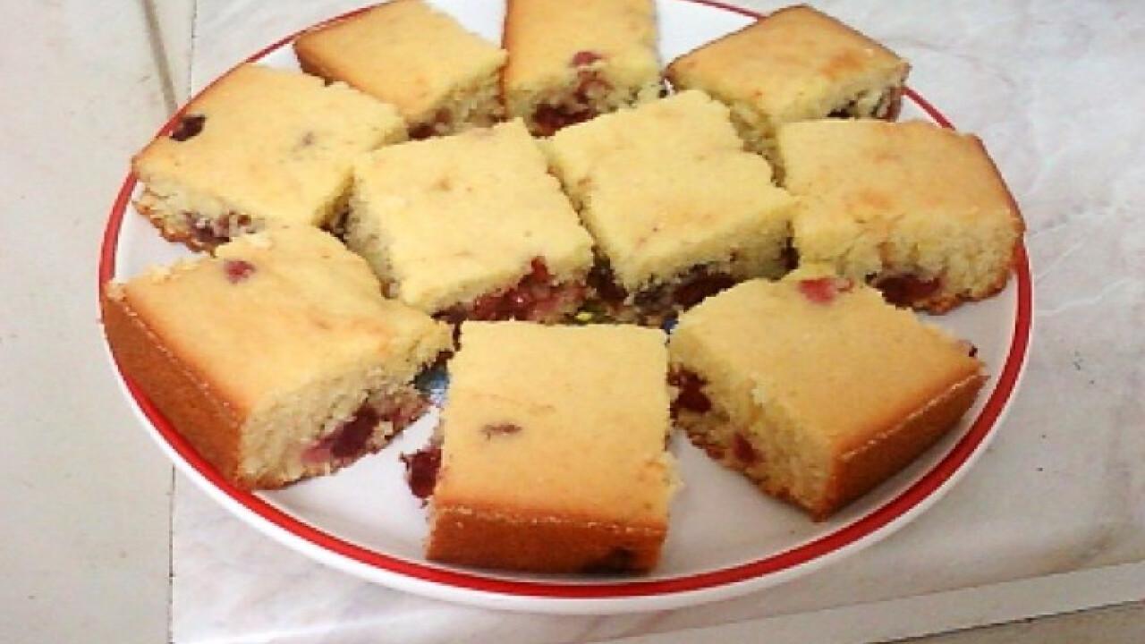 Cseresznyés kevert süti Ciccke konyhájából
