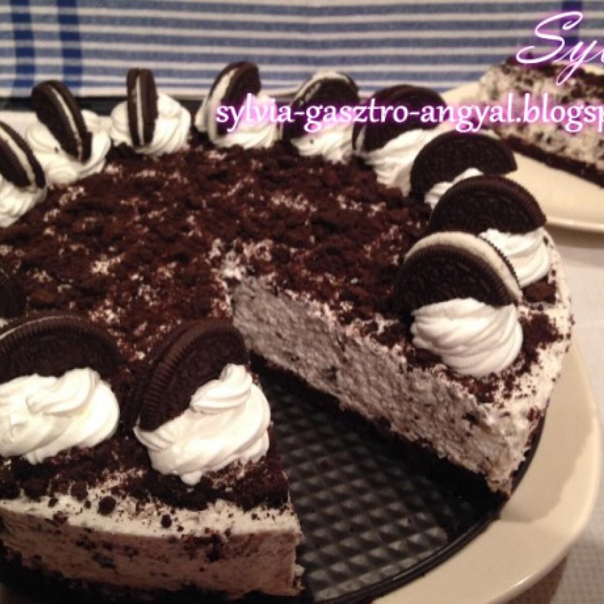 Ezen a képen: Oreo torta Sylva Gasztro Angyal konyhájából