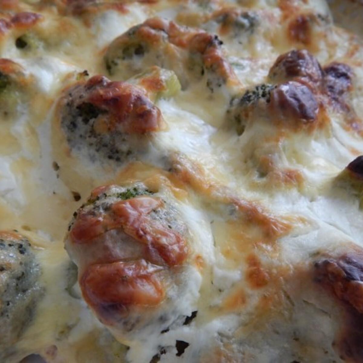 Ezen a képen: Csőben sült brokkolis csirkemell