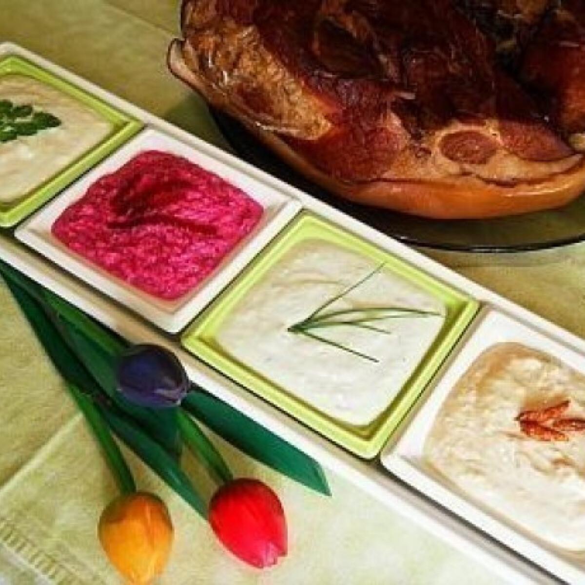 Ezen a képen: Húsvéti torma variációk