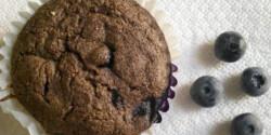 Áfonyás muffin ahogy Cukormentes készíti