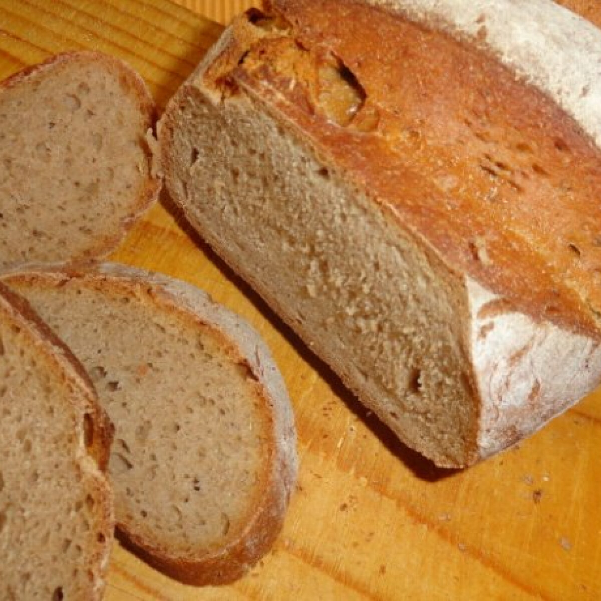 Ezen a képen: Kovászos kenyér - Glaser konyhájából