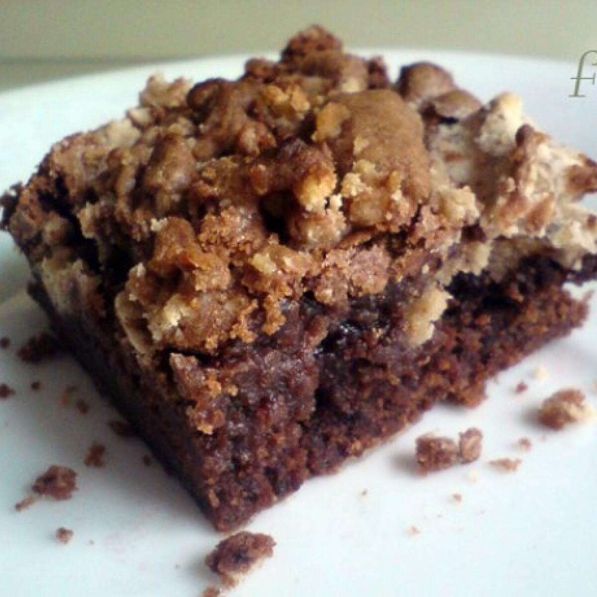 Ezen a képen: Gesztenyés brownie