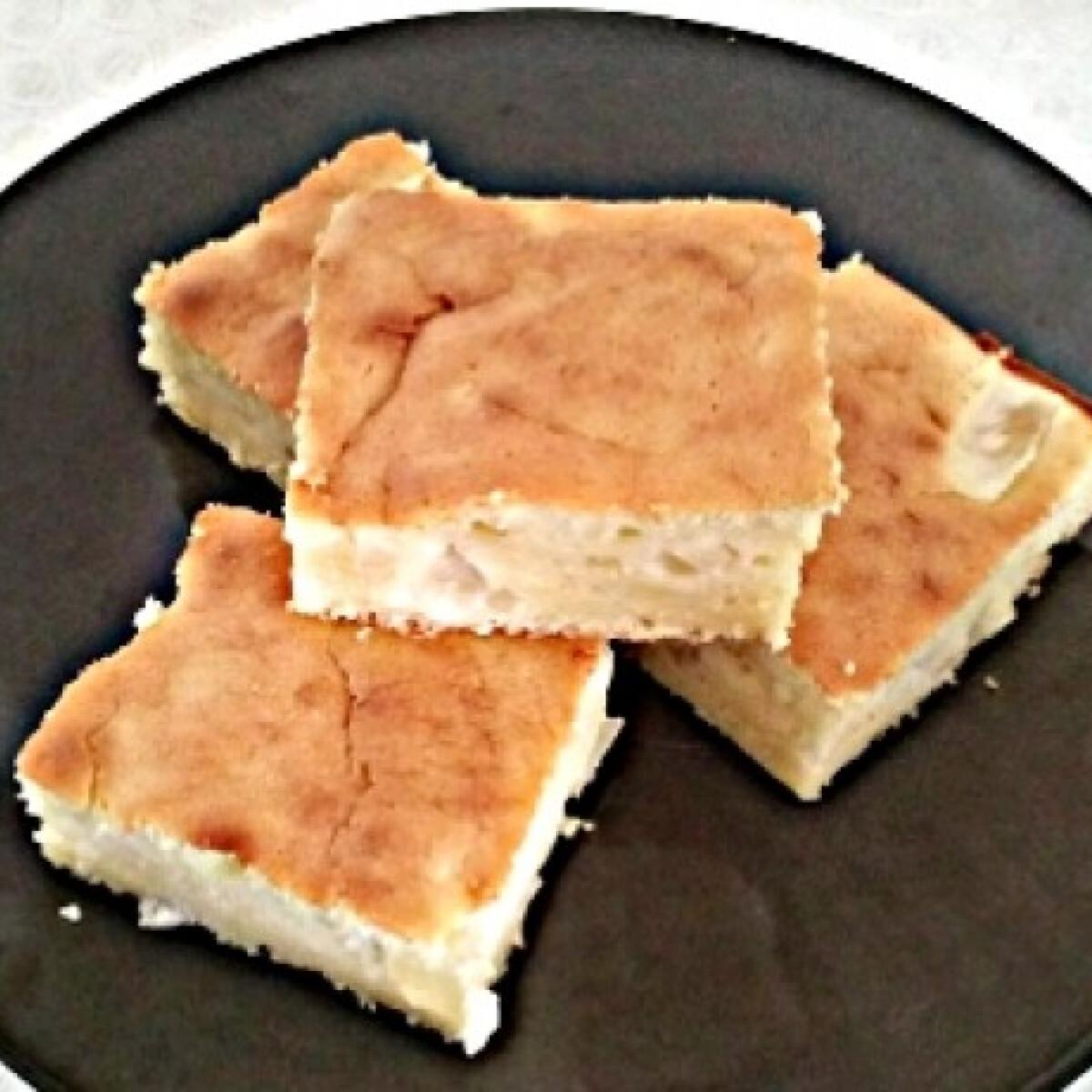 Ananászos-ricottás süti