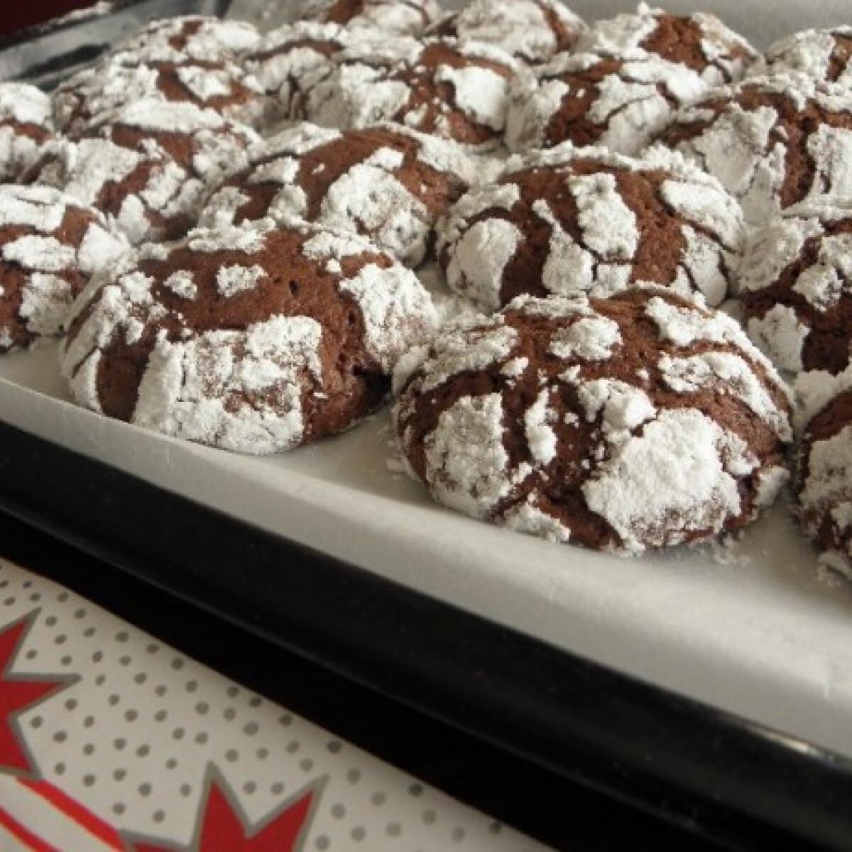 Ezen a képen: Csokoládés hógolyó