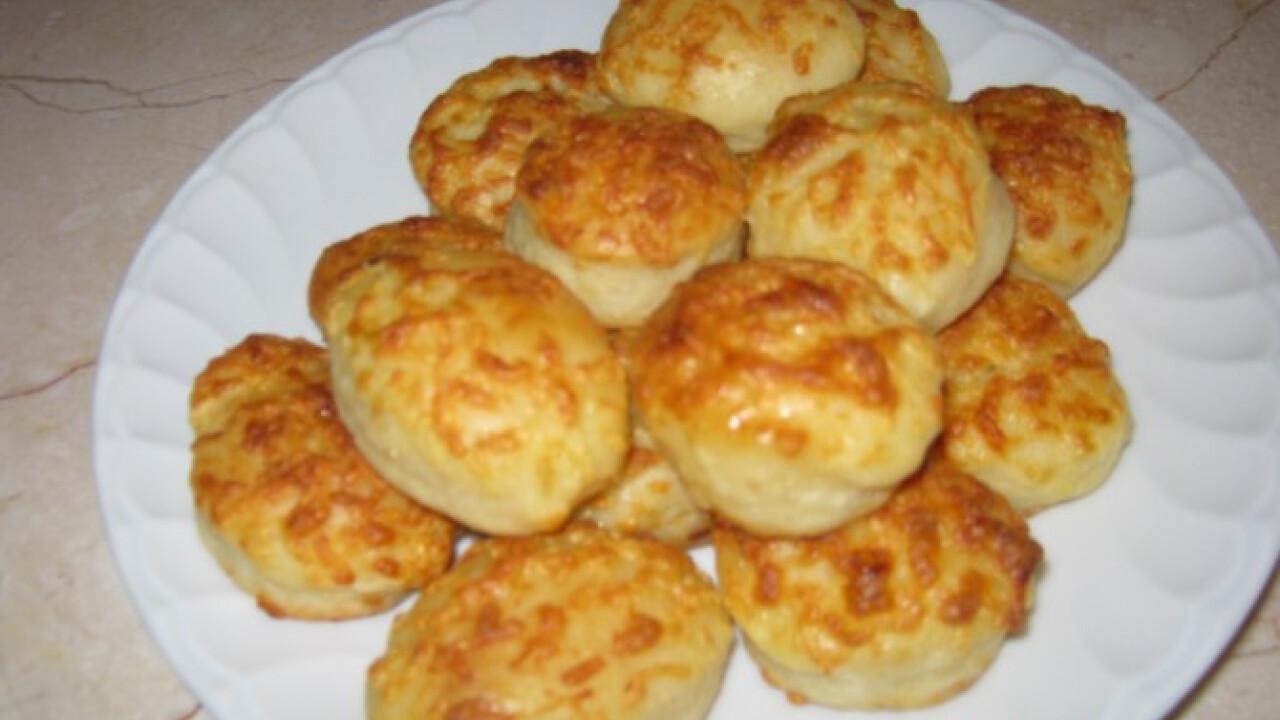 Mozzarella sajtos sós pogácsa