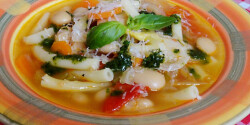 Gyors minestrone leves