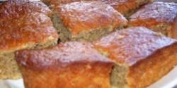Diétás almás-mazsolás süti