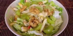 Waldorf saláta Évi nénitől