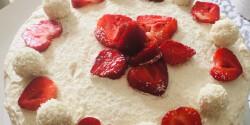 Epres Raffaello torta