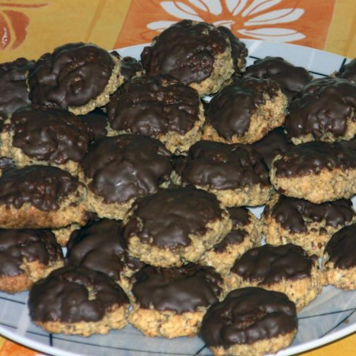 Ezen a képen: Könnyű zabos keksz