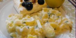 Zöldfűszeres krumplisaláta