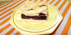 Áfonyazselés crostata