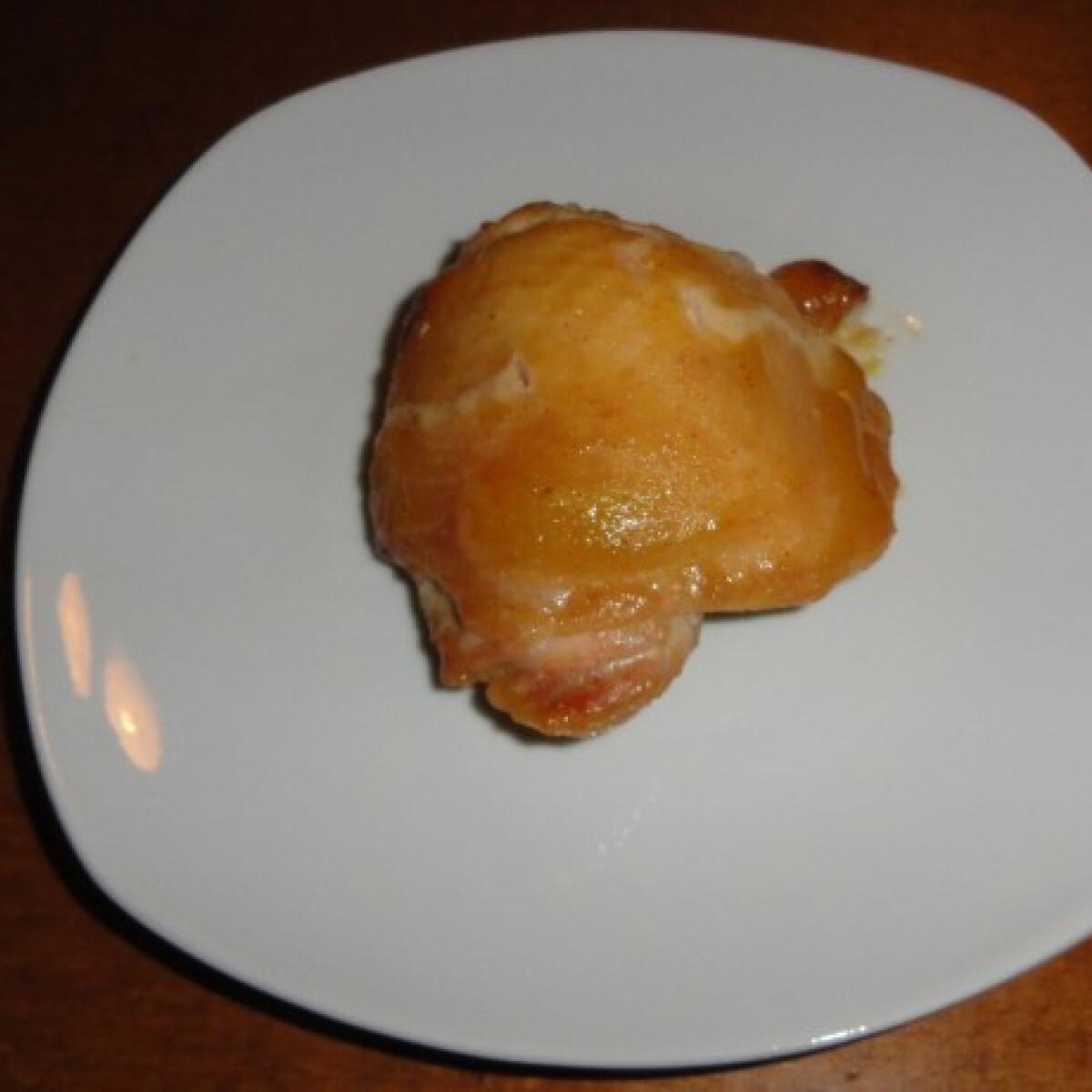 Ezen a képen: Mézes-mustáros csirke Virától