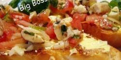 Bruschetta mozzarellával