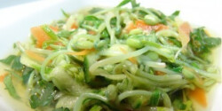 Mungóbabcsíra saláta