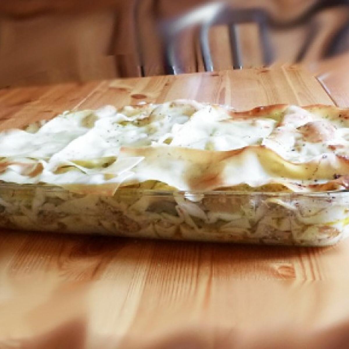 Ezen a képen: Nyári lasagne