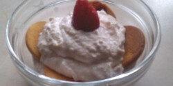 Joghurtos-epres túrókrém