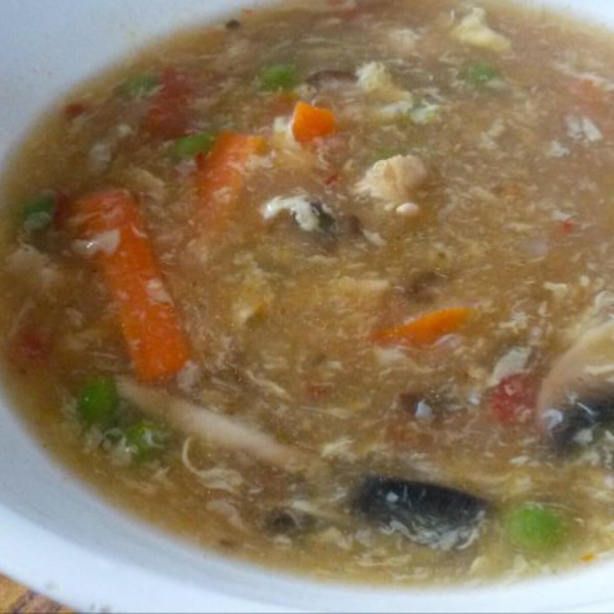 Ezen a képen: Csípős-savanyú leves Julie konyhájából