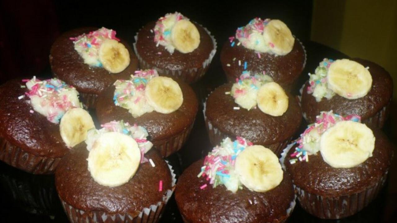 Csokis-banános muffin Melissza konyhájából