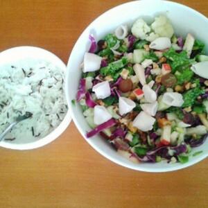 Emerald saláta avagy majdnem Waldorf saláta felturbózva