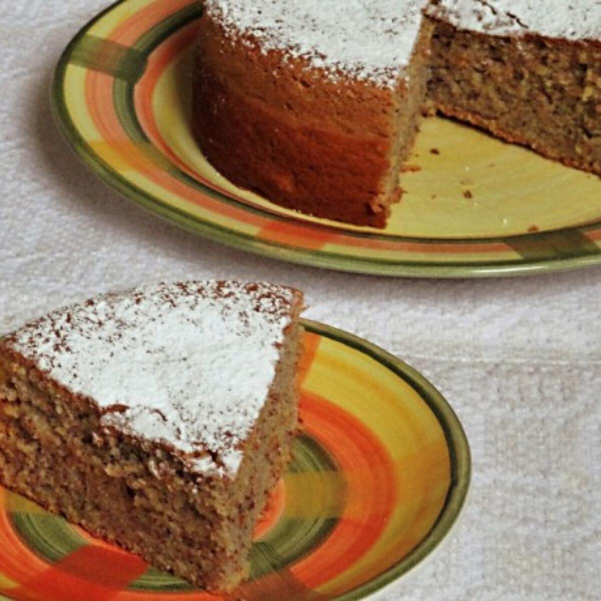 Ezen a képen: Mallorcai mandulás sütemény