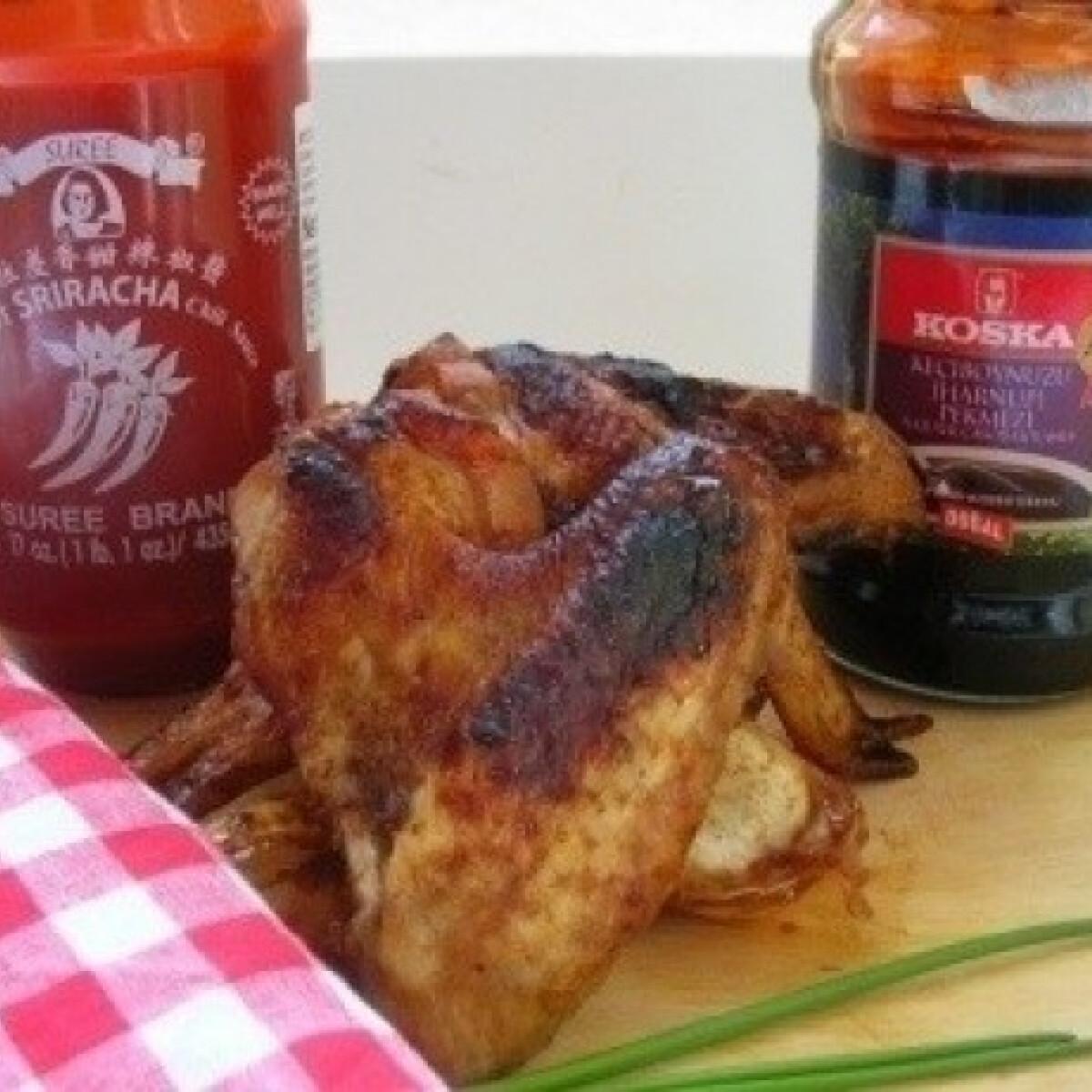 Ezen a képen: Ragacsos csirkeszárnyak